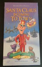 SANTA CLAUS IS COMING TO TOWN New VHS Fred Estaire Mickey Rooney FREE SHIPPING