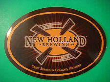 Beer STICKER    NEW HOLLAND Brewing Craft Brewed in Holland, MICHIGAN Since 1997