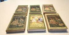 Six Hardcover Bobbsey Twins Books~Laura Lee Hope~Grosset & Dunlap Publishers