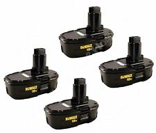 Genuine Dewalt DC9098 18V NiCd Battery 4 Pack New for DC920 DW938 DC385 DC390