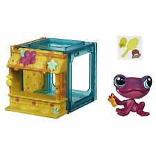 Littlest Pet Shop Mini Estilo Set con #4026 Figura De Rana Tad Paulen (B2897)