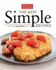 The Best Simple Recipes, America's Test Kitchen, Acceptable Book