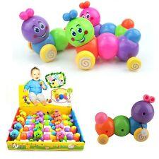 Trendy New Baby Carpenterworm Cutworm Clockwork Wooden Children Education Toy