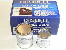 Caswell Gas Tank Sealer repair kit motorcycles 10 gallon steel fiberglass w cans