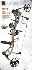 New Bear Archery Authority RTH Package 70 lbs Right Hand Bow Realtree APG Camo