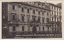 MILANO - COMMEMORAZIONE ANNIVERSARIO MARCIA SU ROMA - CASA DEL FASCIO