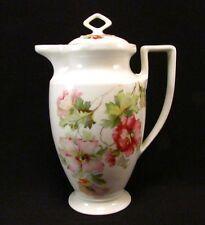 Ancienne Cafetière en Porcelaine Altrohlau CMR Décor Fleurs