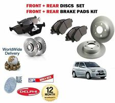 FOR SUZUKI IGNIS 1.5 SPORT 2003-2005 NEW FRONT + REAR BRAKE DISCS SET + PADS KIT
