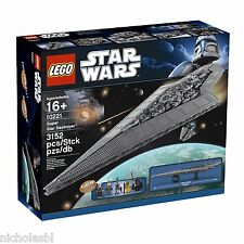 LEGO Star Wars Super Star Destroyer (10221) New Sealed Box Free Shipping!