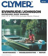 1973-1990 Johnson Evinrude 2-40HP Outboard Repair Manual 1989 1988 1987 86 B732