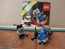 Lego Space – 6809 XT-5 and Droid – Instructions - Complete - 1987 - Vintage Set