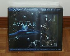 AVATAR - COLLECTORS EDITION - 3 Blu-ray + 2 DVDs + BUST - NEW - SEALED