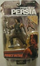 """Disney Prince of Persia the sands of time Prince Dastan 6"""" action figure #2 NEW"""