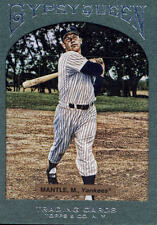 MICKEY MANTLE 2011 TOPPS GYPSY QUEEN #89 GREEN FRAME AB7617