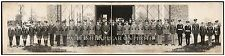 """1935 Visit of General Pershing to Grant's Cabin Vintage Panoramic Photograph 28"""""""