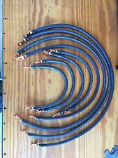 Club Car Precedent 48V 2 Gauge #2 Welding Wire Battery Cable HD Lugs Full Set