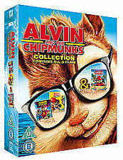 Alvin And The Chipmunks Collection (Blu-ray, 2012, 3-Disc Set)