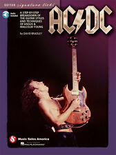 AC/DC Angus Young Guitar Signature Licks Tab Book NEW! 50% OFF