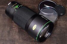 NIKON AI FIT HANIMEX HMC 300mm f4 AUTOMATIC MC TELEPHOTO LENS WITH FLITER & CAPS