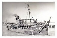 rp16690 - Royal Navy Trawler - HMS Andradite - photo 6x4