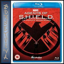 AGENTS OF SHIELD - COMPLETE SEASON 2 - MARVEL'S SHIELD **BRAND NEW BLU-RAY*