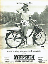 PUBLICITE ADVERTISING 026  1961  Velosolex  cyclomoteur