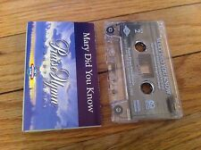 Praise Him Soundtrack Mary Did You Know Hi Medium Low Cassette Tape PHT0959 RARE