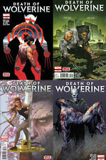 DEATH OF WOLVERINE #1,2,3,4~COMPLETE SET/STORY~MCNIVEN/SOULE STORY AND ART~