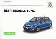 SKODA FABIA 3 Betriebsanleitung 2015 Bedienungsanleitung Handbuch Bordbuch BA