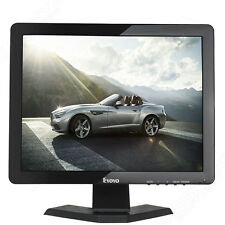 "Eyoyo 15"" Widescreen Gaming PC CCTV TFT LCD Monitor With BNC AV HDMI VGA USB IN"