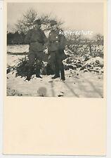 Foto Frankreich Dieppe Offizier/Soldat vor Unterstand 2.WK (U947)