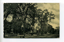 Woburn MA Mass Common, street, monument, church, 1907