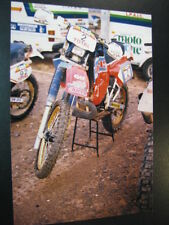 Photo El Charro Honda Elf Team  #2 Cyril Neveu (FRA) Atlas Rallye 1987 (MAR)