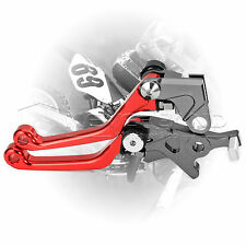 Red CNC Pivot Brake Clutch Levers For Honda CRF250L/M 2012-2015
