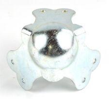 Kugelecke groß 3 schenklig / 6 Löcher / 2mm Stahl