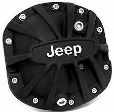 DANA 30 Xtreme Differential Cover with Jeep Logo Black
