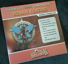 Karaoke cdg disc,SFWS025 Sunfly World Stars,Ronan Keating,see Descript,15 tracks