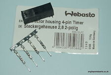 WEBASTO 4 PIN Male 1530 & 1533 CONTROLLER..Extension lead plug ........FREEPOST