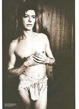 DAVID BOWIE in a loin cloth magazine PHOTO/ Poster/clipping 11x8 inches