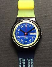 Swatch 1990 Blue Neptun  -  GB718
