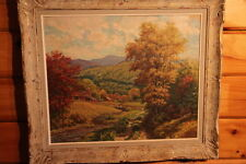 Antique Landscape painting by Phillips E Osgood