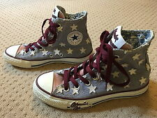 CONVERSE  Hi Tops Wonder Woman Stars Sneakers Blue Pink Trainers Size 4