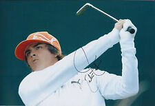 Rickie FOWLER SIGNED Autograph 12x8 Photo AFTAL COA 2010 Ryder Cup Team USA