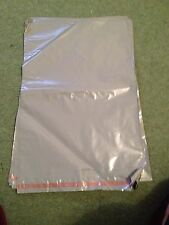 20 A3 POLYTHENE SEAL PLASTIC ENVELOPES MAILING BAGS