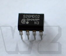 S26MD02 SHARP DC=03 8-Pin DIP Type SSR for Low Power Control