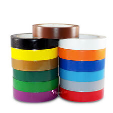 Vinyl Pinstriping Tape - 13 OSHA COLORS AVAILABLE: 1 INCH (24mm) x 108Ft 5MIL