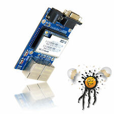 WLAN LAN WAN UART RS232 Router Board -serial to Net- 16MB Ram 360MHz no ESP8266