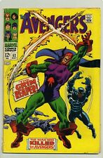 AVENGERS #52 (1968 ) VG ( BLACK PANTHER JOINS AVENGERS ) GOLIATH, WASP & HAWKEYE