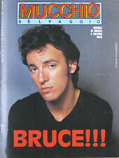 MUCCHIO 89 1985 Bruce Springsteen Ry Cooder Pat Metheny Sisters Mercy Battiato