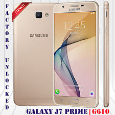 "Samsung Galaxy J7 Prime LTE 16GB 13MP 5.5"" 3GB Dual  G610F Android Unlocked Gold"